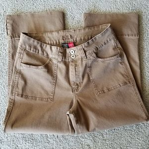 Jag Stretch Woman's Cropped Jeans size 10.